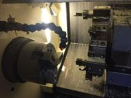 液压增压器阀芯加工