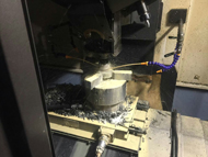 液压增压器阀体加工