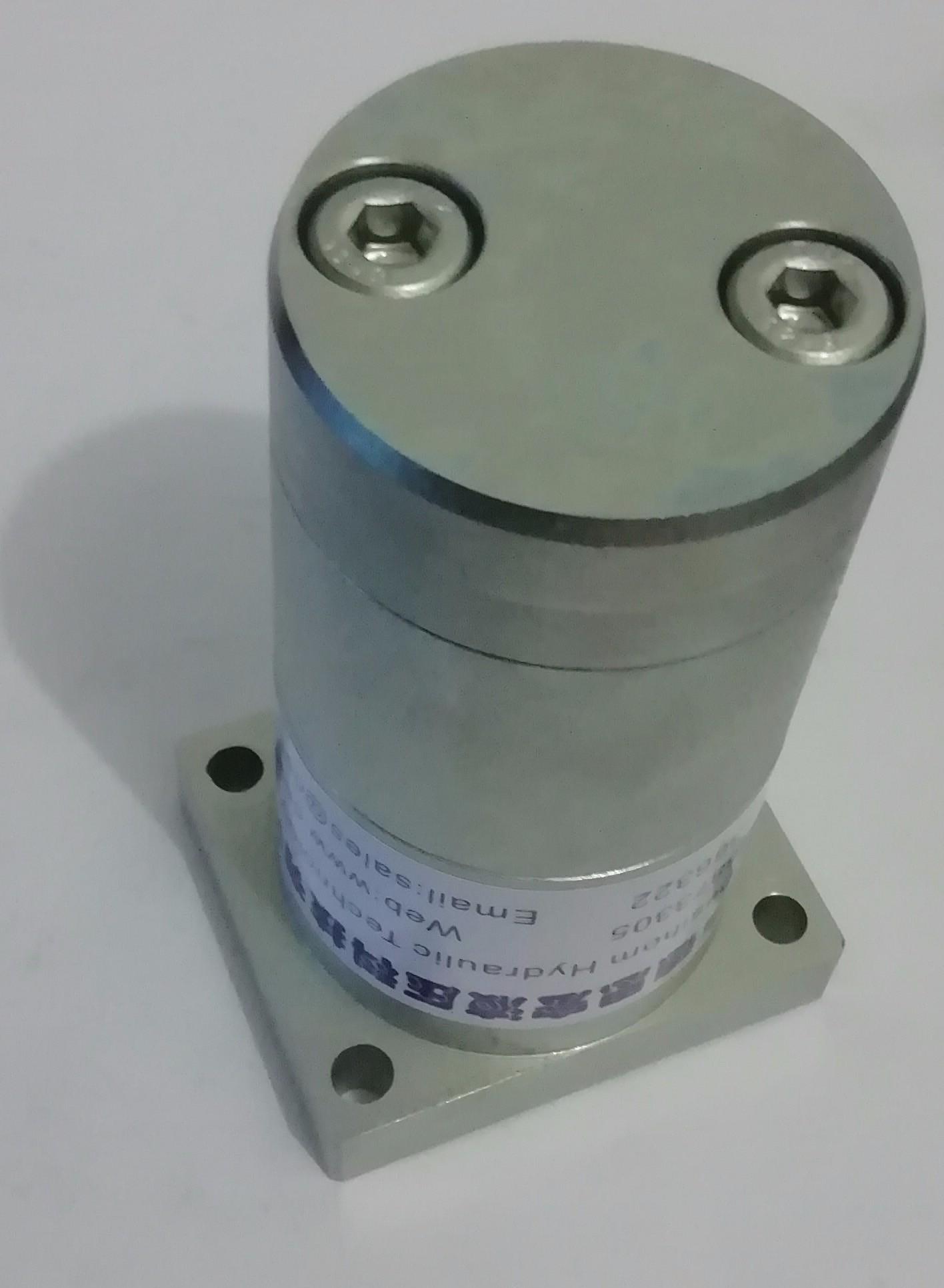 法兰式液压增压器发面图