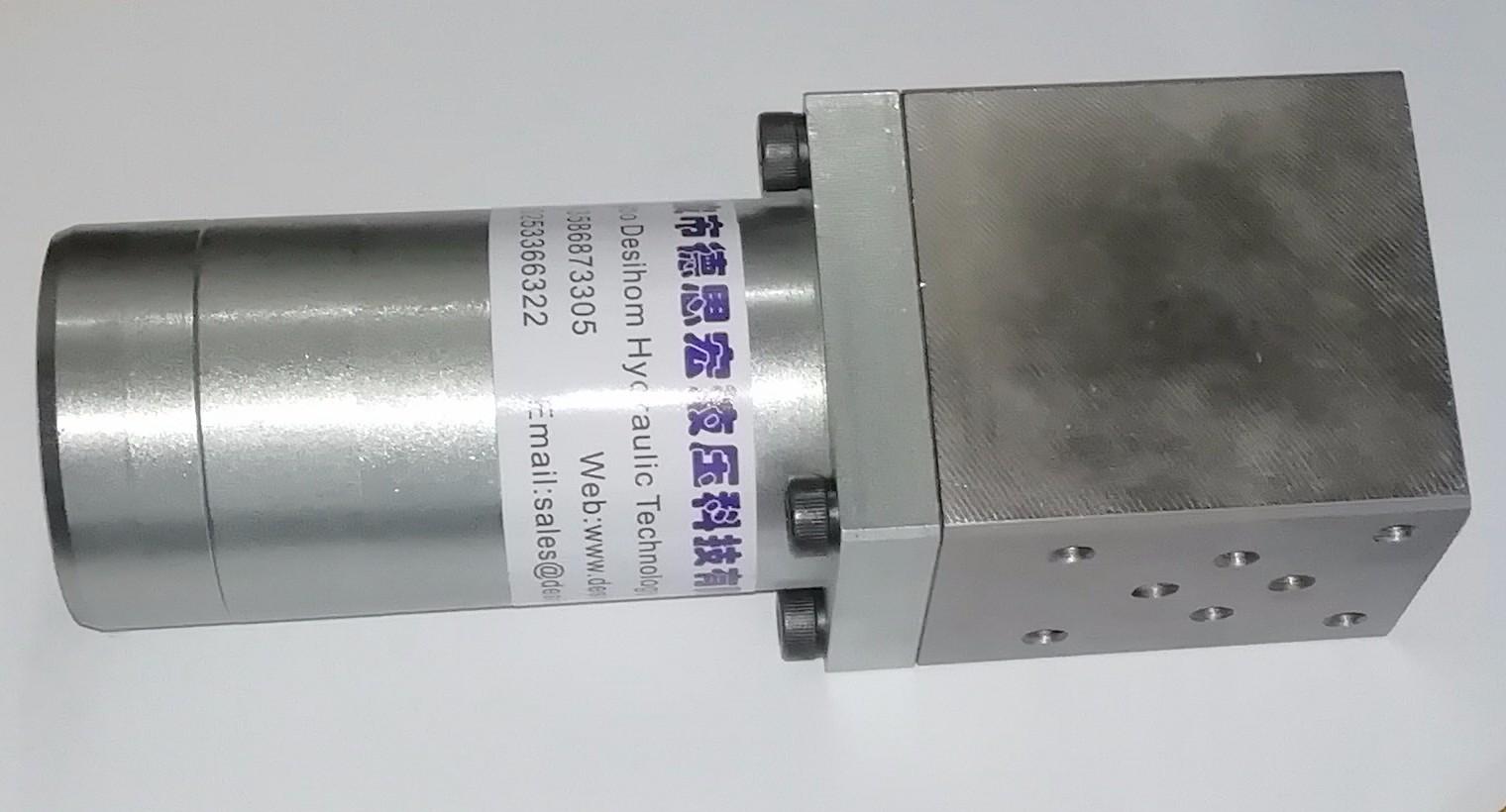 叠加式液压增压器